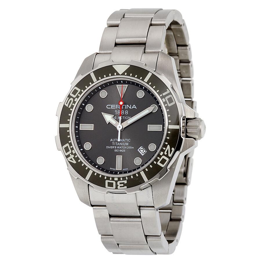 certina ds action diver automatic mens watch c01340744