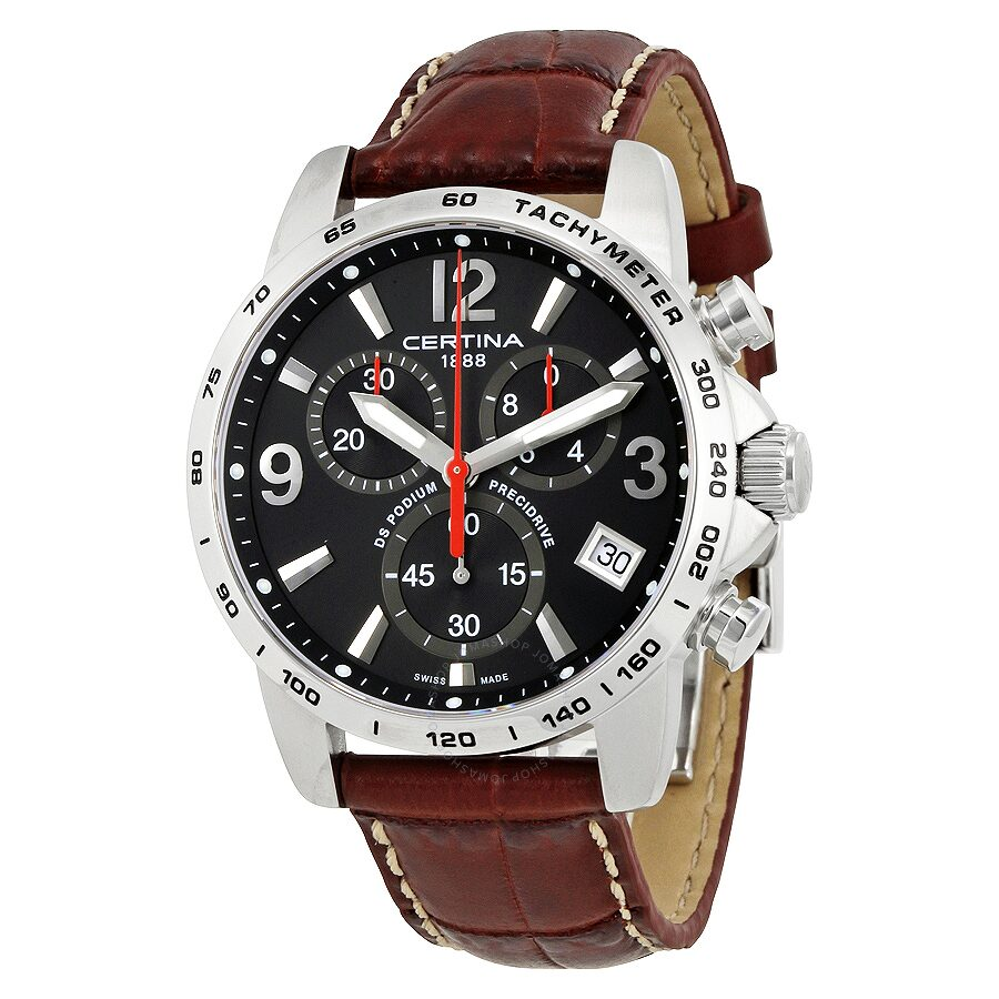 certina ds podium chronograph men 39 s watch. Black Bedroom Furniture Sets. Home Design Ideas