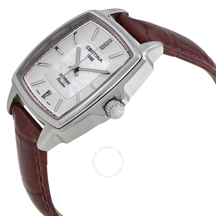 ... Certina DS Prime Shape White Mother of Pearl Dial Ladies Watch  C028.310.16.426.00 ... 68a09bd361c