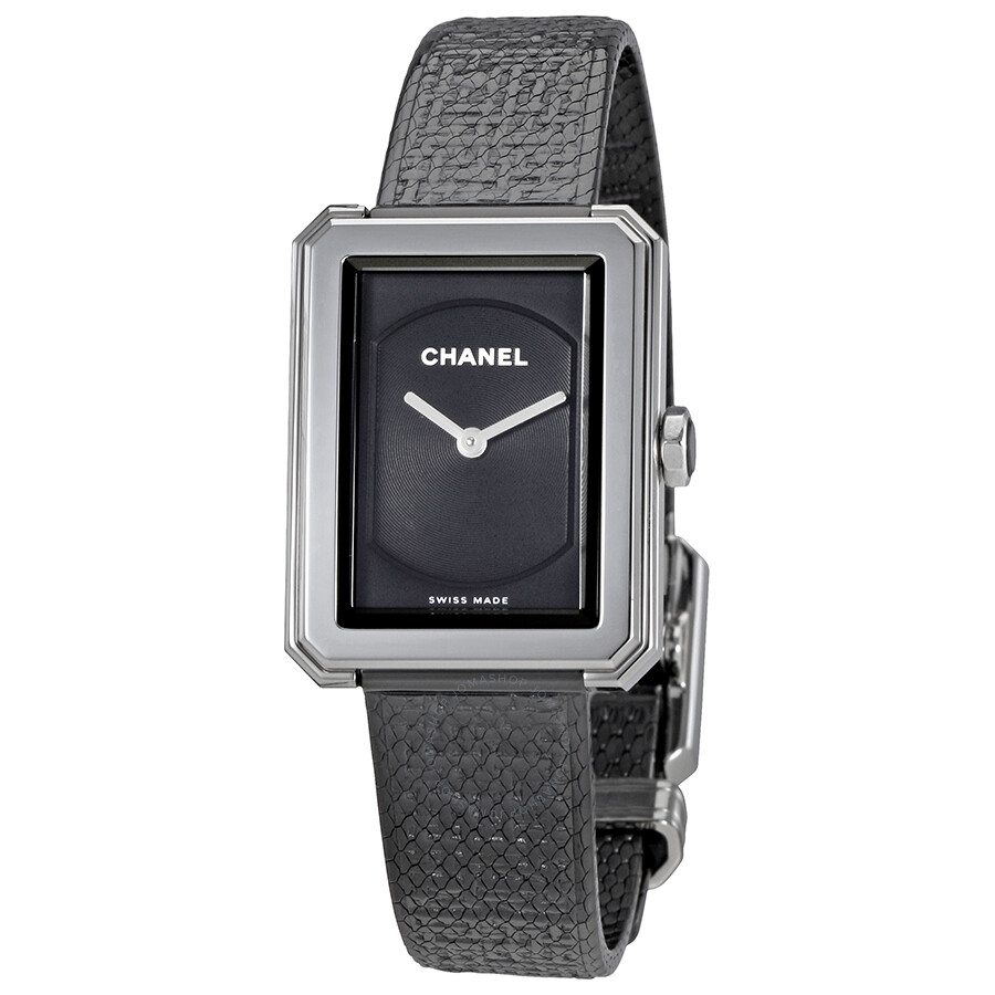 1e758512cbdf Chanel Boy-Friend Black Dial Ladies Watch H5317 - Boy-Friend ...
