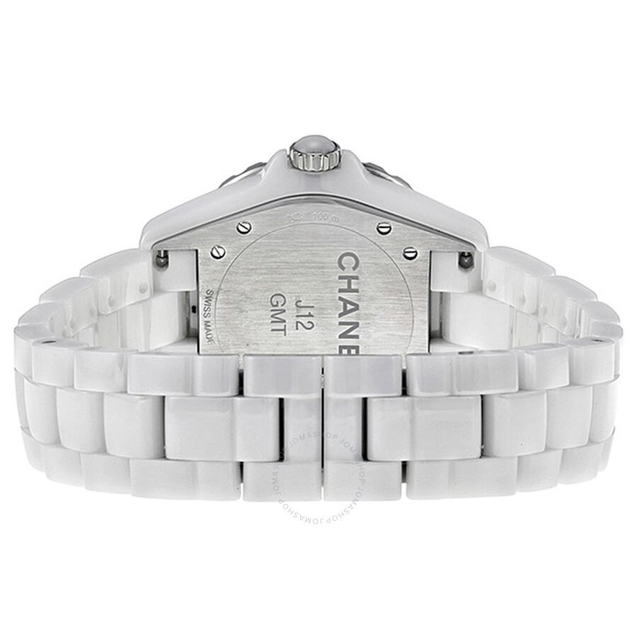 5ff1b2359e799 Chanel J12 Automatic GMT White High-Tech Ceramic Ladies Watch H3103 ...
