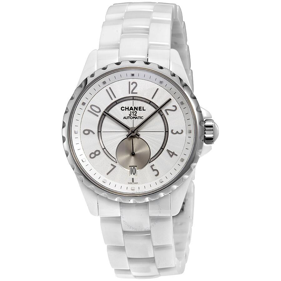 93ed21477d24 Chanel J12 Automatic White Dial Ceramic Unisex Watch H3837 - J12 ...