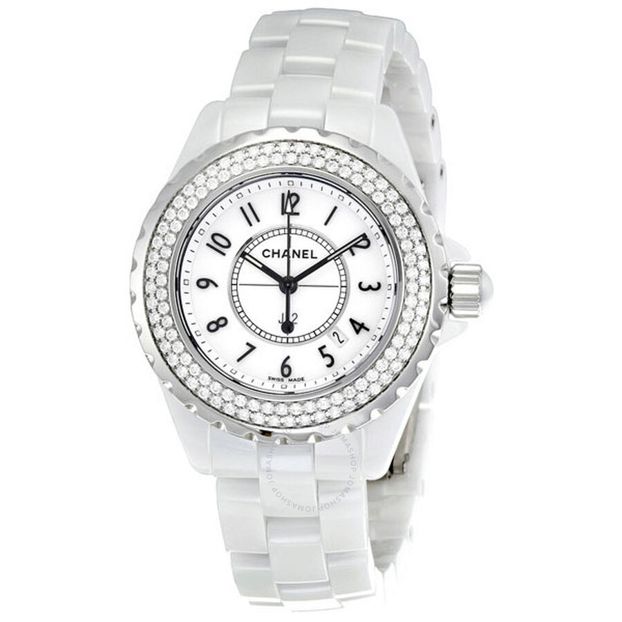 Chanel J12 Diamond White Ceramic Ladies Watch H0967  J12. Miu Miu Bracelet. Grown Diamond. Top Man Earrings. Custom Gold Chains. Stud Bracelet. Twist Band Engagement Rings. Ankle Bracelets Stores. Pre Owned Diamond