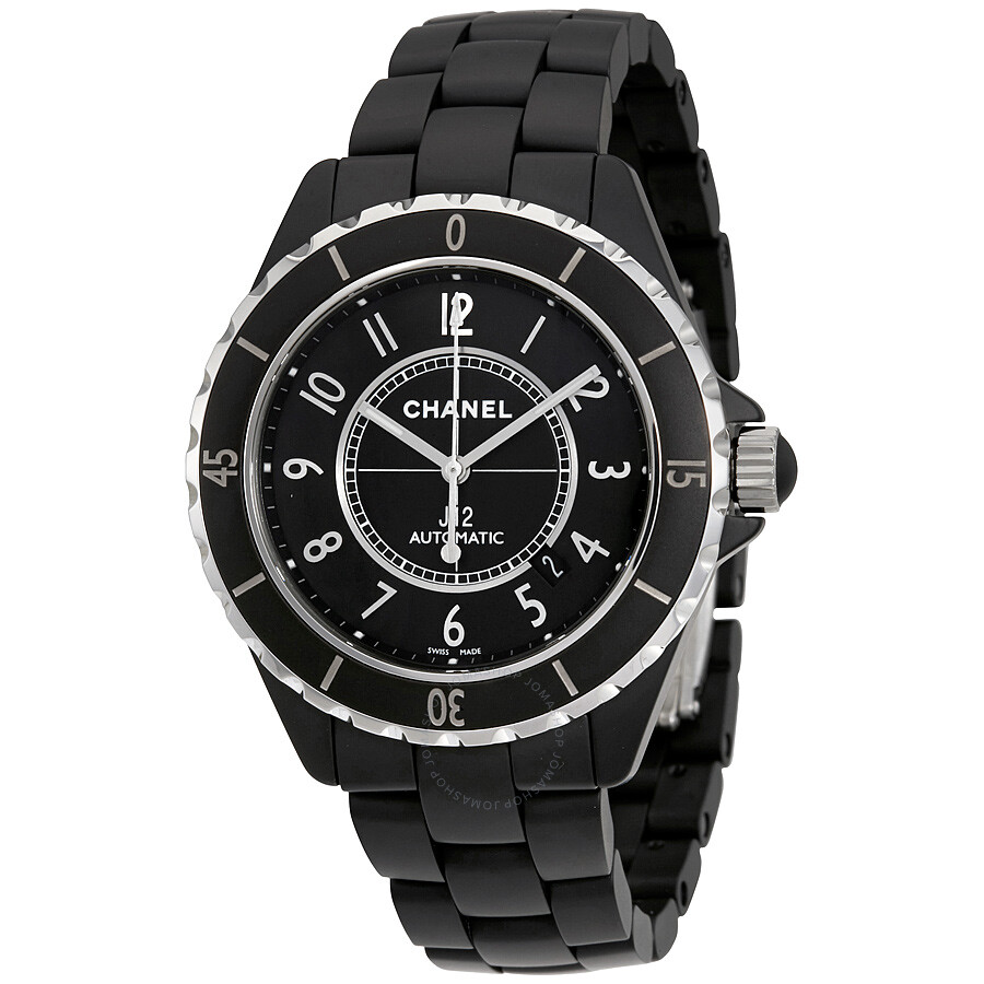 eb2ce01a4ebf1 Chanel J12 Matte Black Automatic Ceramic Unisex Watch H3131 - J12 ...