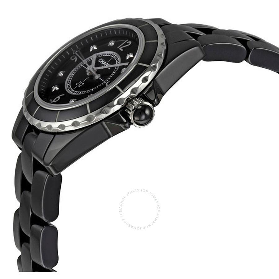 J12 Quartz Black Ladies Watch H2569