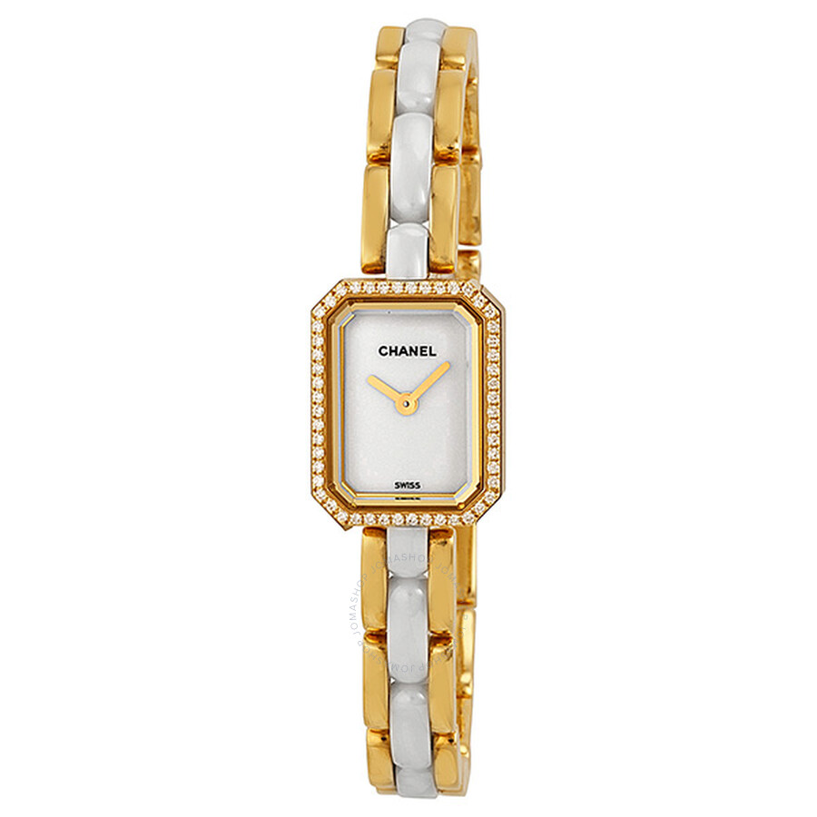 d71ac2ee Chanel Premiere 18kt Yellow Gold and Diamonds Ladies Watch H2435