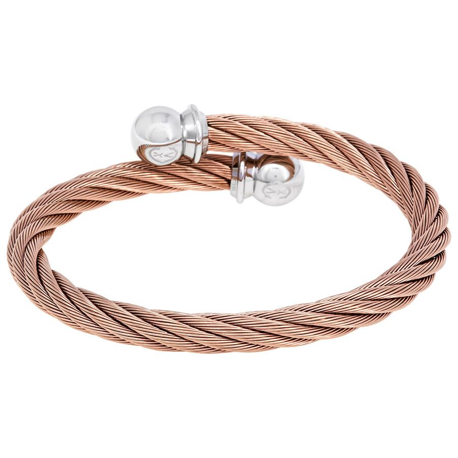 Charriol Celtic Jewels Rose Gold Pvd Bracelet Bangle 04 102 1216 0