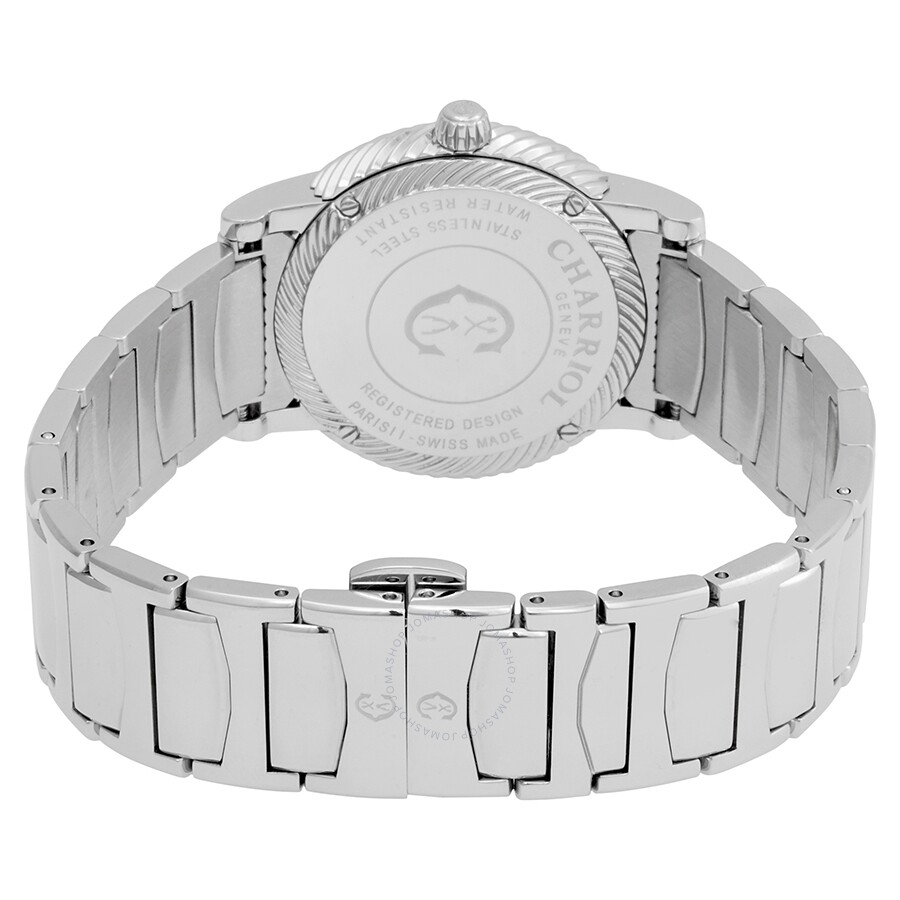 ece27df02a0 ... Charriol Parsii Diamond White Mother of Pearl Dial Ladies Watch  P33S2.920.001