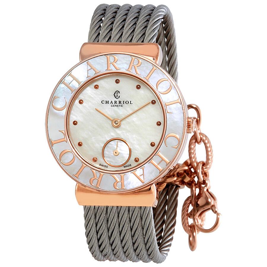 42f1db9b23e Charriol St-Tropez Ladies Watch ST30PC.560.020 - Charriol - Watches ...