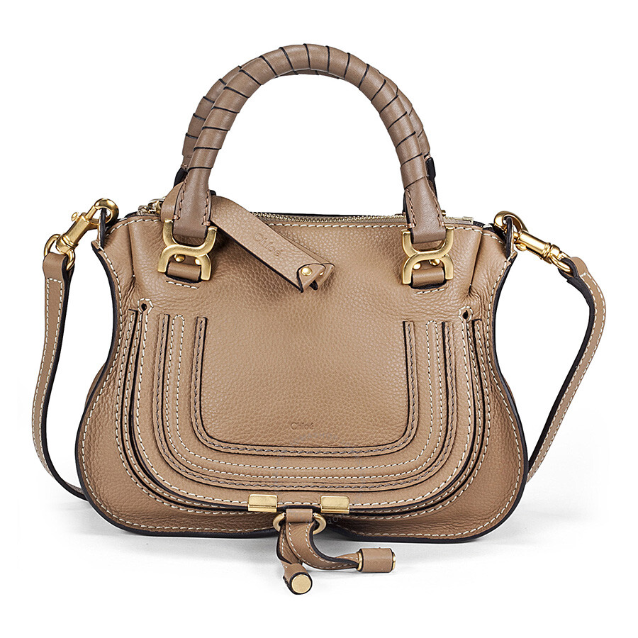 chloe baby marcie nut leather satchel chlo handbags handbags jomashop. Black Bedroom Furniture Sets. Home Design Ideas