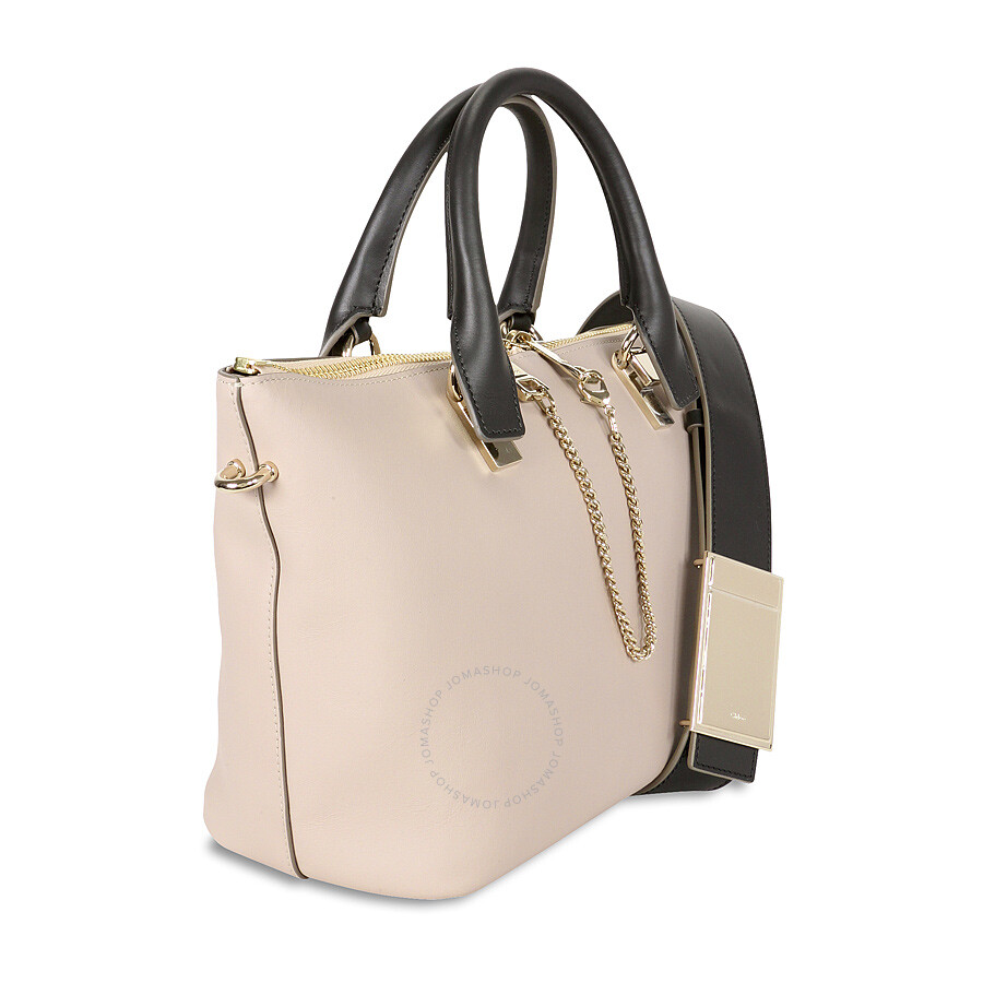 Chloe Baylee Small Leather Tote - Beige - Baylee - Chloé Handbags ... 004abc9fc5db