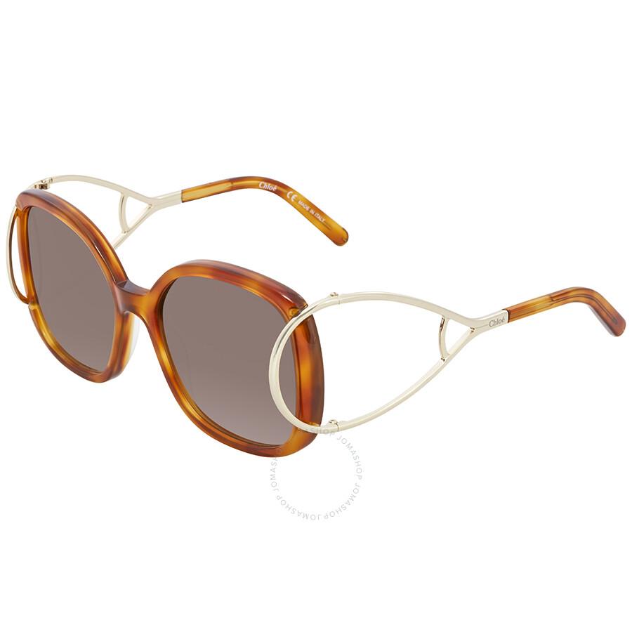 6352c7012998 Chloe Brown Gradient Square Sunglasses CE702S 725 56 - Chloe ...