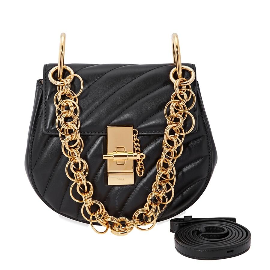 8dad3ba1bee1b Chloe Drew Bijou Mini Quilted Shoulder Bag- Black Item No. CHC18US107A04001