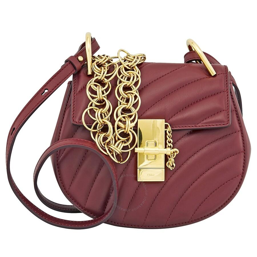 83a30faef4 Chloe Drew Bijou Mini Quilted Shoulder Bag- Plum Purple