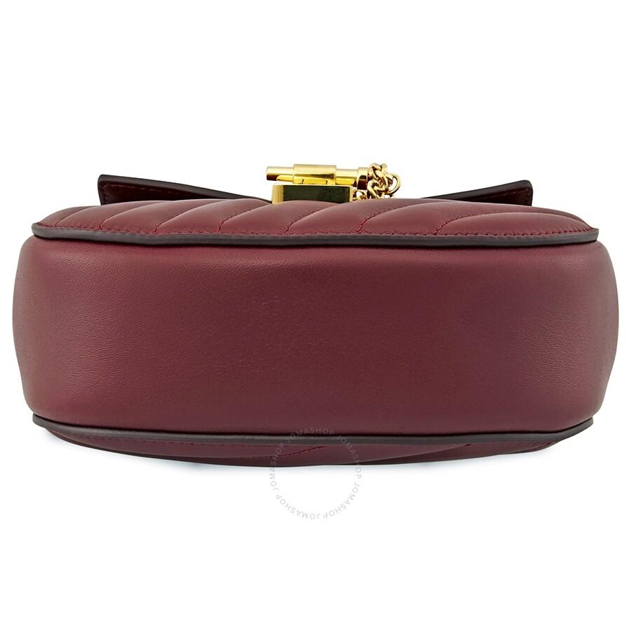 433796a02fe Chloe Drew Bijou Mini Quilted Shoulder Bag- Plum Purple - Drew Bijou ...