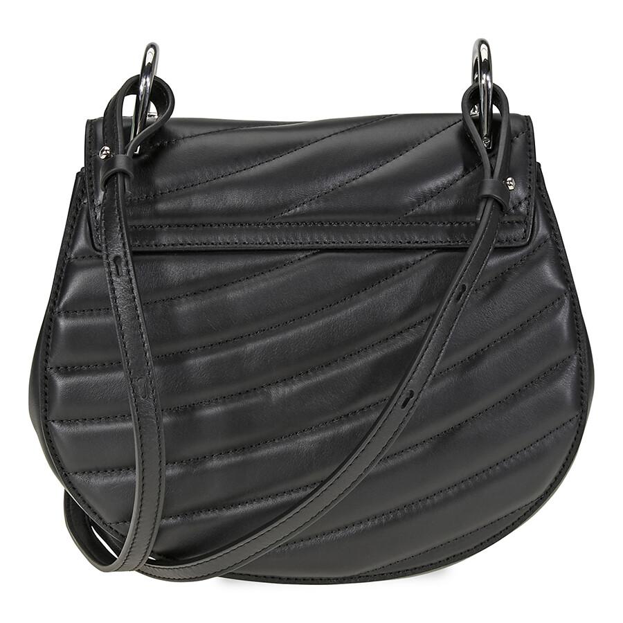 31c92471c618f Chloe Drew Bijou Quilted Leather Shoulder Bag- Black Item No. CHC18US106A08  001
