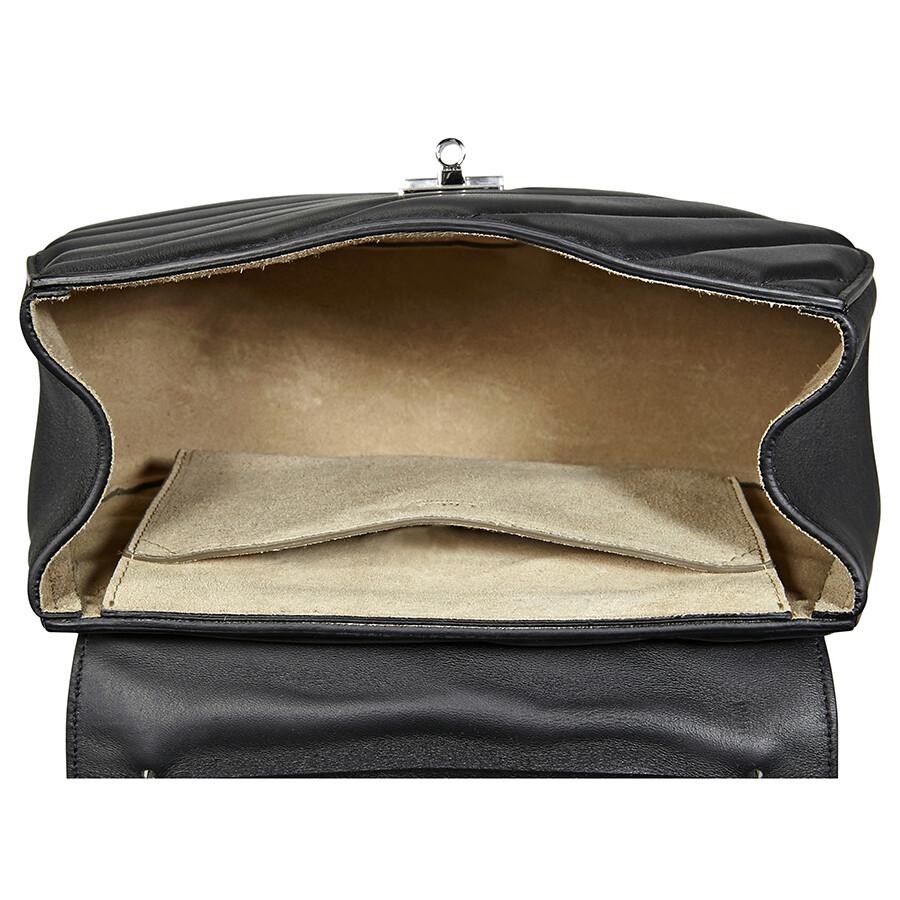 Chloe Drew Bijou Quilted Leather Shoulder Bag- Black - Drew Bijou ... 4e953a108d43