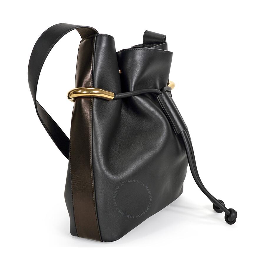 1ff7d5bc0a19 Chloe Emma Medium Calfskin Drawstring Shoulder Bag - Black - Emma ...