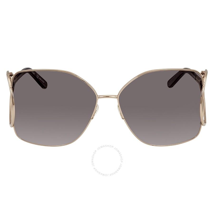 f1433f94a7 Chloe Grey Gradient Square Sunglasses CE135S 744 63 - Chloe ...