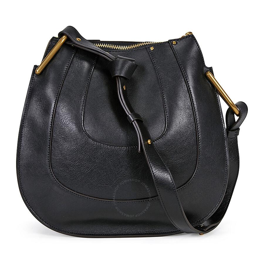 2c88a3de56 Chloe Hayley Leather Hobo Handbag - Black - Hayley - Chloé Handbags ...
