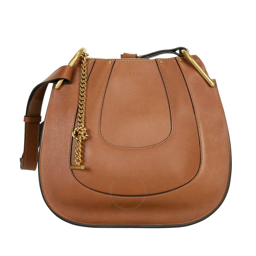 aa688727 Chloe Hayley Leather Hobo Handbag - Tan