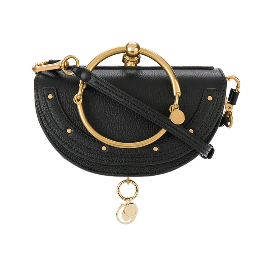 Ladies Nile Small Clutch  Black by Chloe