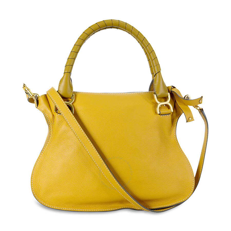 Chloe Marcie Small Leather Satchel Handbag