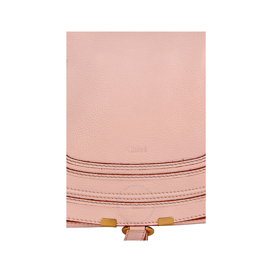 chleo bags - Chloe Marcie Medium Leather Satchel Handbag - Nude Pink - Jomashop