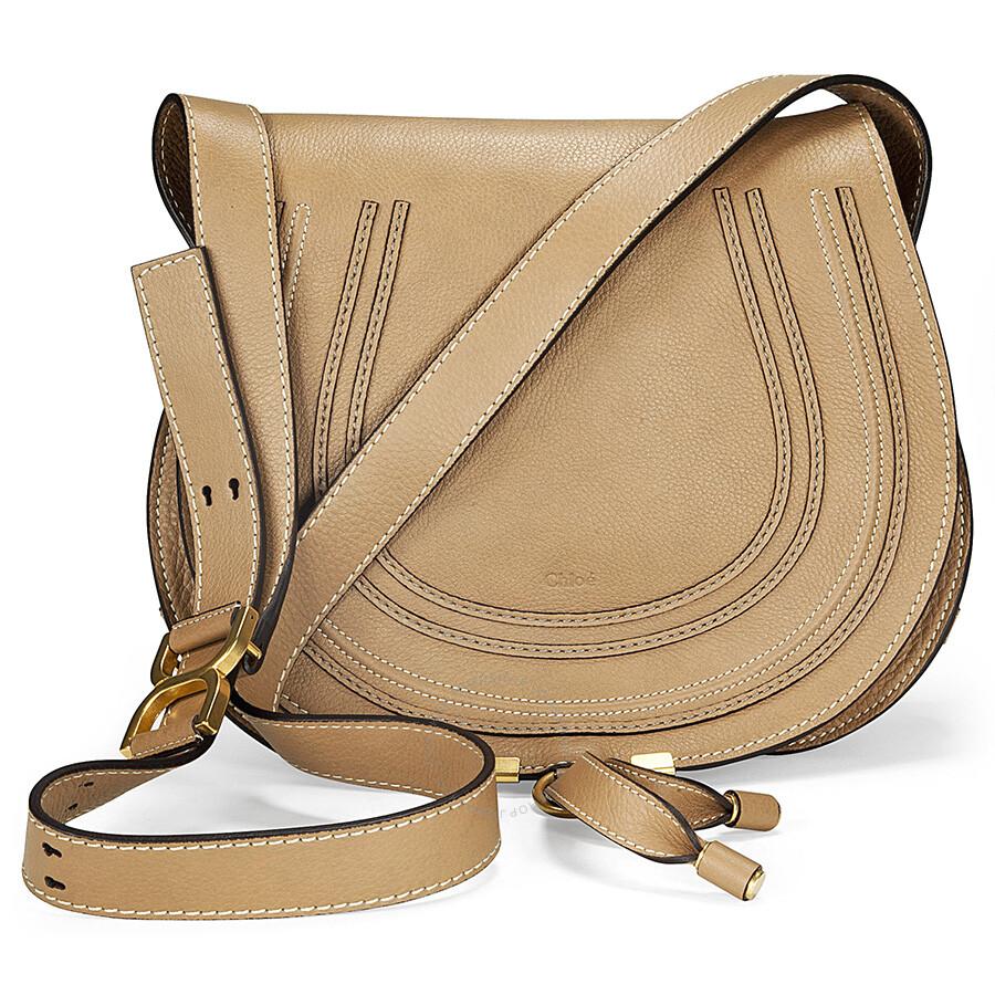 b7254d93009 Chloe Marcie Small Saddle Bag - Nut - Marcie - Chloé Handbags ...