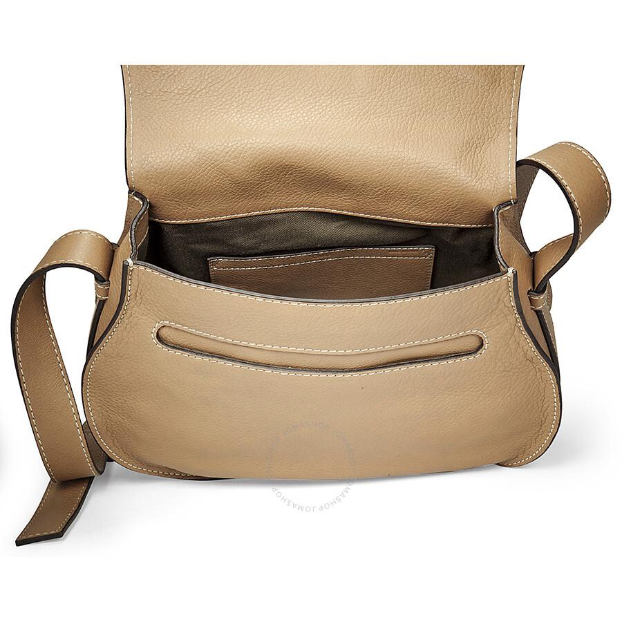 18b307c15fe59 Chloe Marcie Small Saddle Bag - Nut - Marcie - Chloé Handbags ...
