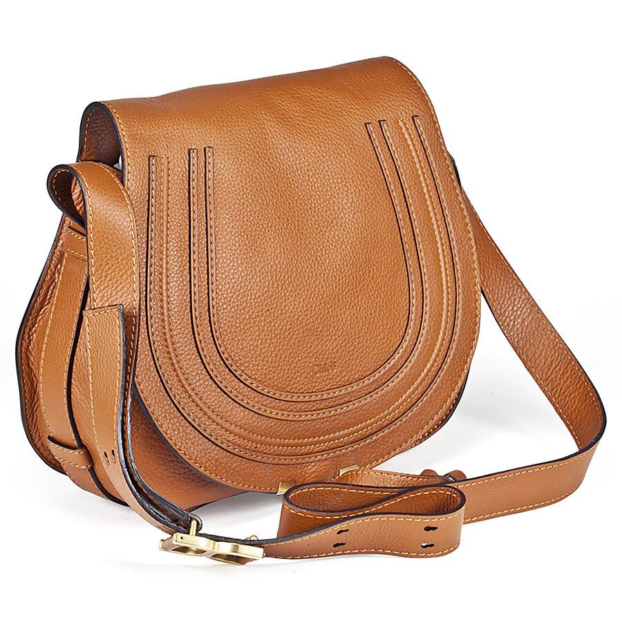 chloe marcie small saddle bag tan chlo handbags. Black Bedroom Furniture Sets. Home Design Ideas