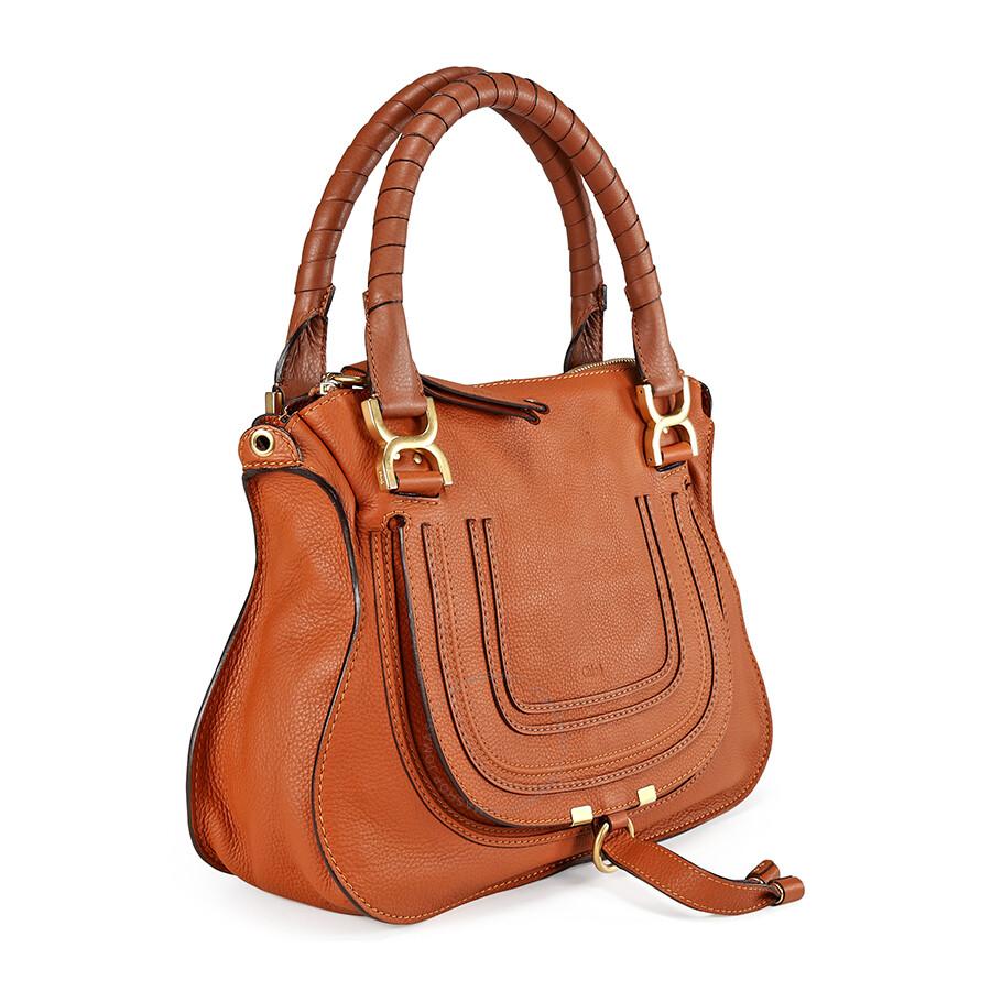 chloe marcie small satchel tan chlo handbags. Black Bedroom Furniture Sets. Home Design Ideas