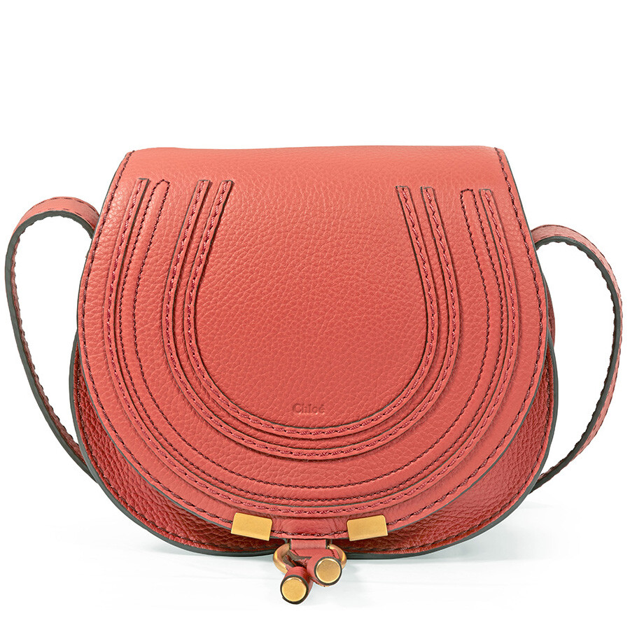 ef79ec21f5 Chloe Marcie Mini Crossbody Bag - Terracotta Red Item No. C11SP580161-841
