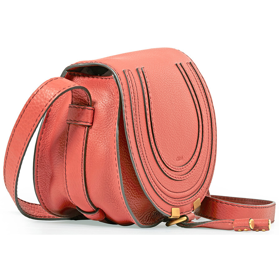 a984c23625 Chloe Marcie Mini Crossbody Bag - Terracotta Red - Marcie - Chloé ...