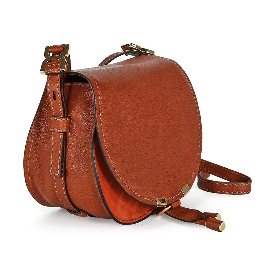 Chloe Marcie Small Saddle Bag Classic