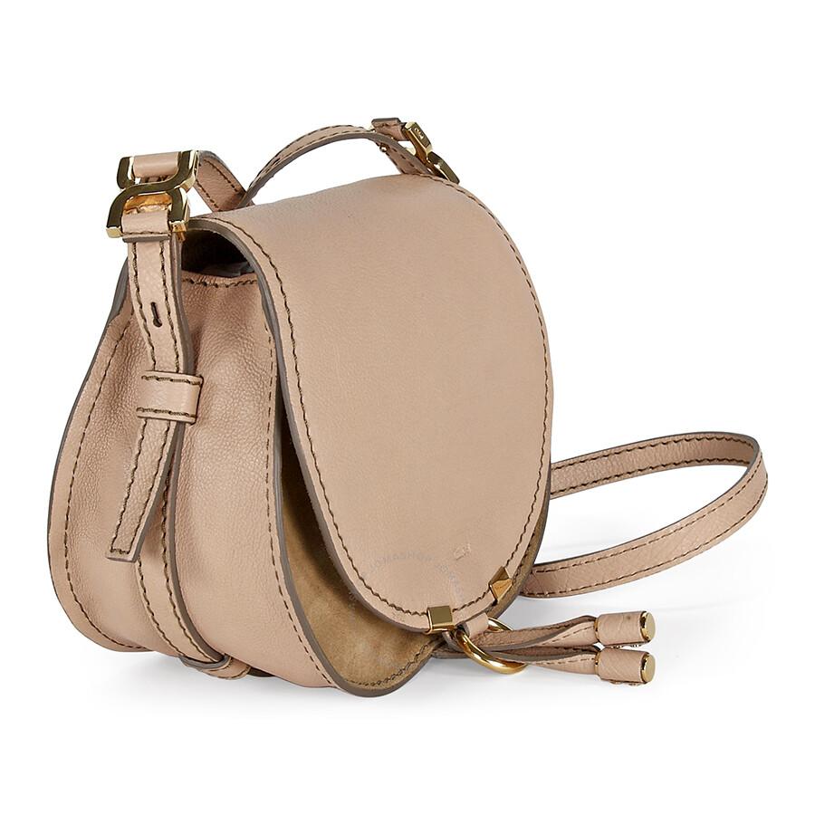5cfe36aeb5d Chloe Marcie Small Saddle Bag - Nude Beige - Marcie - Chloé Handbags ...