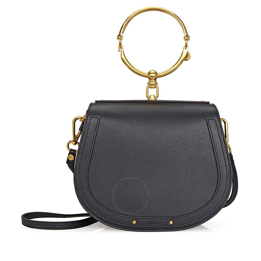 14da1b8fdf35e Chloe Nile Medium Shoulder Bag - Black - Nile - Chloé Handbags ...