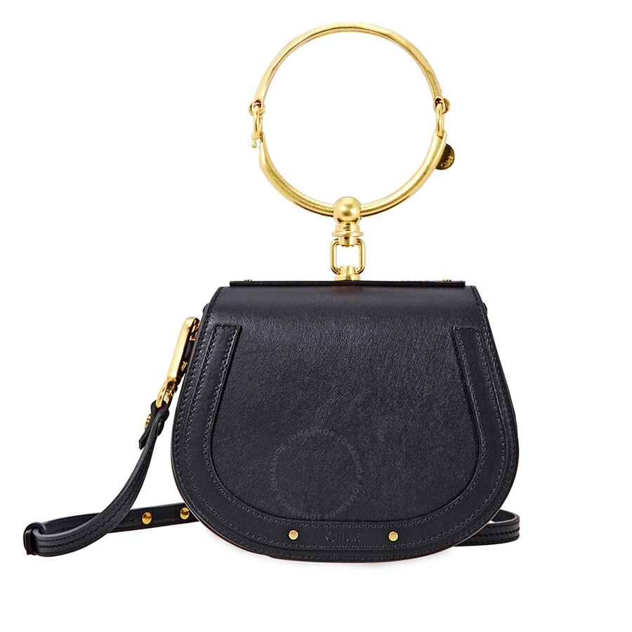 9243f65371961 Chloe Nile Small Bracelet Bag- Black - Nile - Chloé Handbags ...