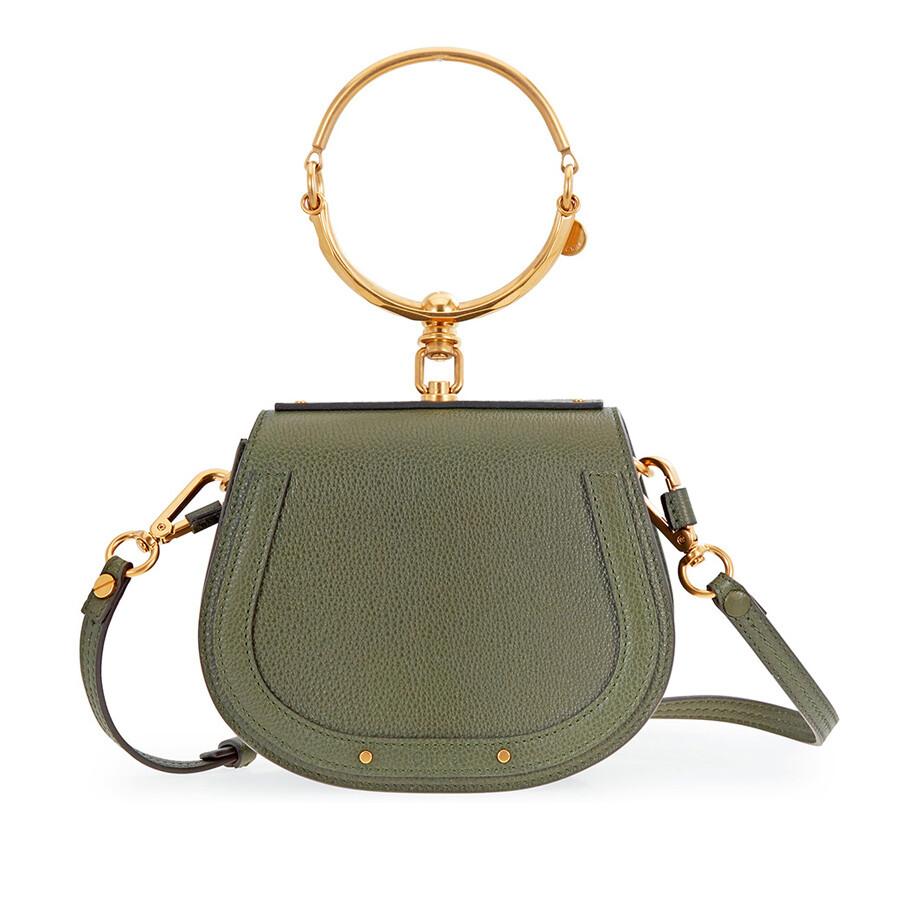 31d73ab048d Chloe Nile Small Shoulder Bag - Midnight Green - Faye - Chloé ...