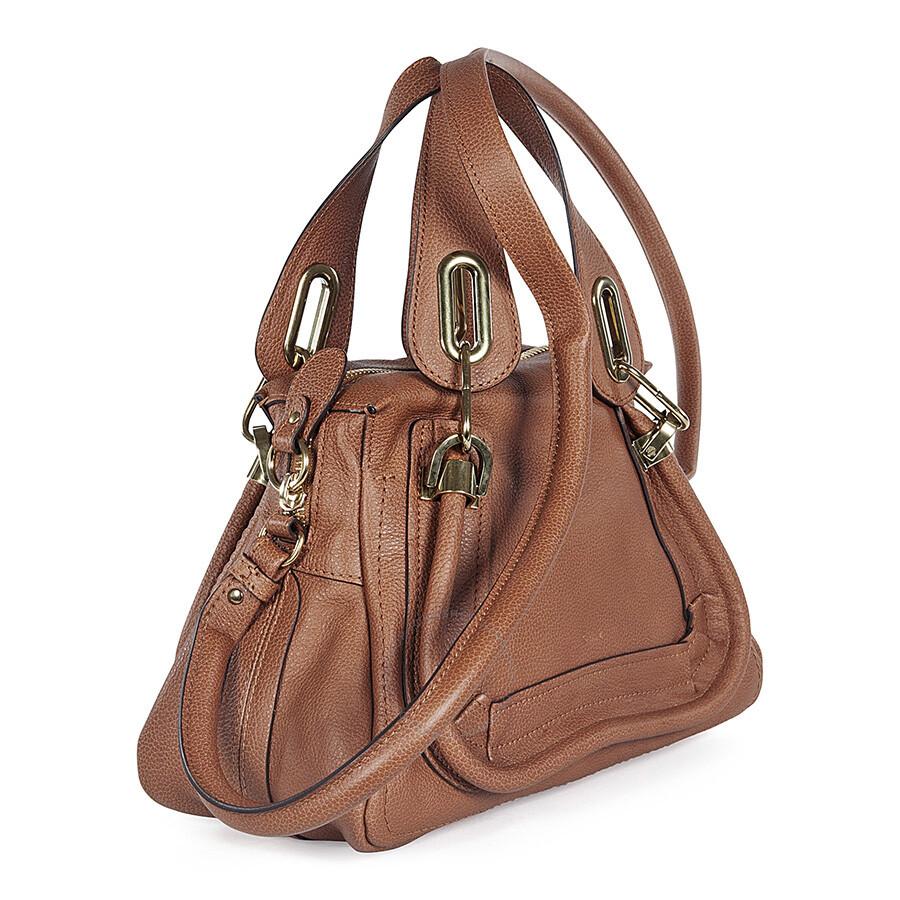 handbags chloe online - Chloe Paraty Small Satchel Handbag In Brown - Jomashop