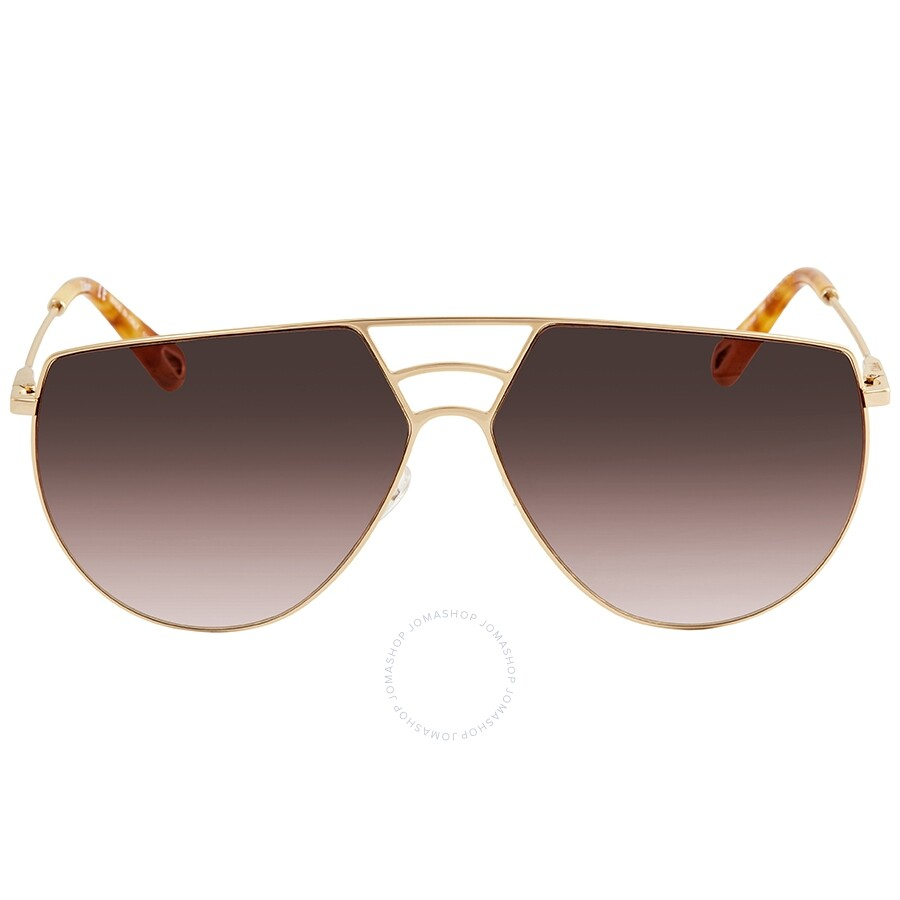 0cdeba59a39a7d ... Chloe Ricky Brown Gradient Round Ladies Sunglasses CE139S 743 62 ...
