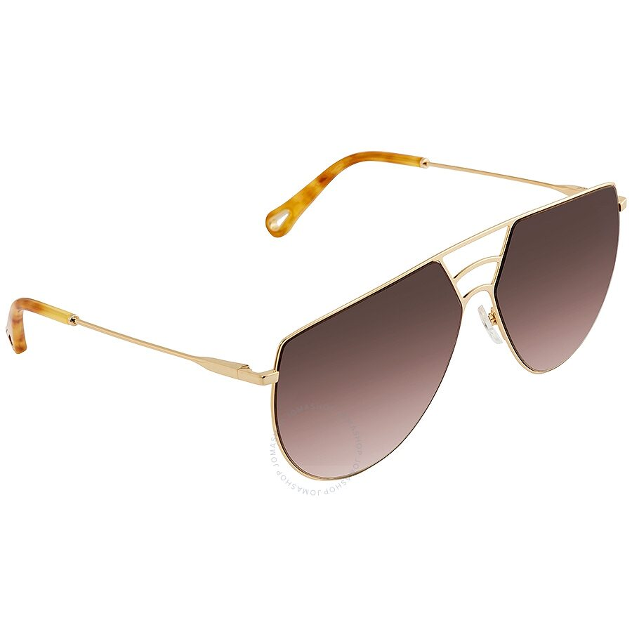 49062e4d97 Chloe Ricky Brown Gradient Round Ladies Sunglasses CE139S 743 Item No.  CE139S 743 62