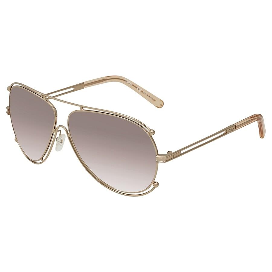 a8dcc2e3fffb Chloe Aviator Sunglasses CE121S 785 61 - Chloe - Sunglasses - Jomashop