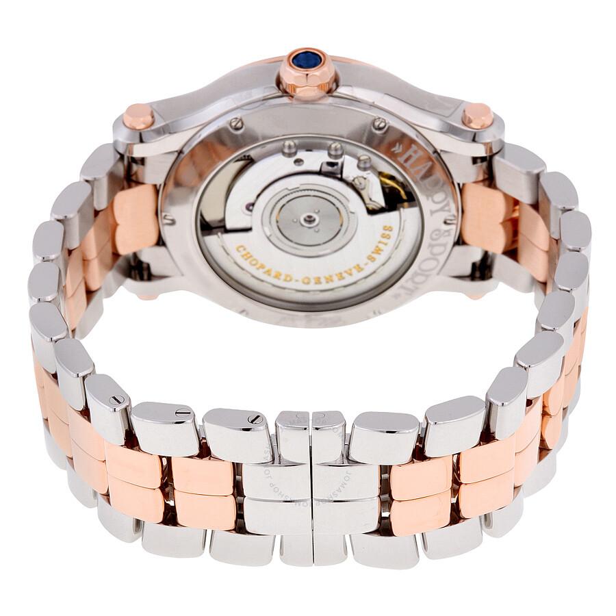 d215298bb ... Chopard Happy Sport Silver Guilloche Dial Ladies Watch 278559-6002