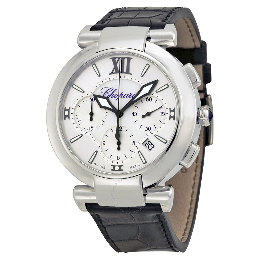 Chopard Imperiale Chronograph Automatic Silver Dial Stainless Steel Casio Edifice 543d Chrono Men Watch Mens Leather Strap 388549 3001