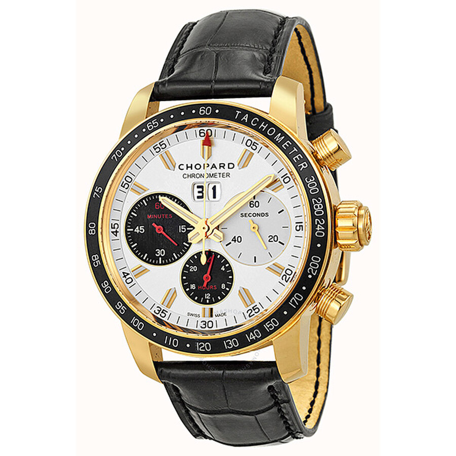 Chopard Jacky Ickx Edition V Chronograph Automatic Silver Dial Men s Watch  161286-5001 ... 44111a22100d