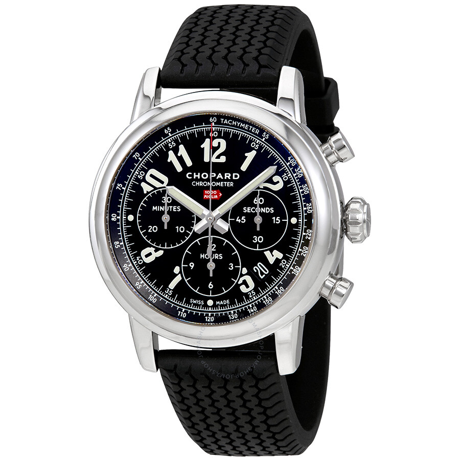 chopard mille miglia chronograph black dial men 39 s watch. Black Bedroom Furniture Sets. Home Design Ideas