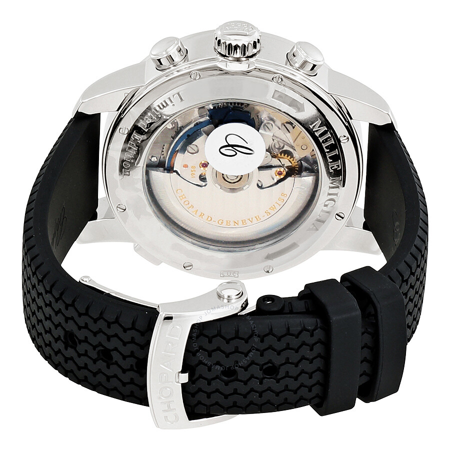 0be2840dc ... Chopard Mille Miglia Black Dial Black Rubber Men's Watch 168995-3002
