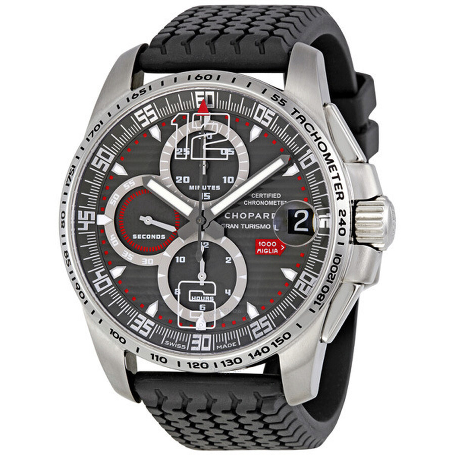 chopard mille miglia gt xl 2009 le titanium men 39 s watch. Black Bedroom Furniture Sets. Home Design Ideas