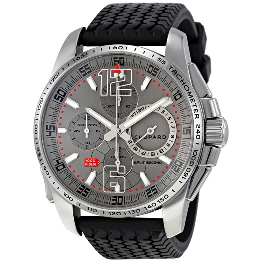 1c8a9f9e2f7f Chopard Mille Miglia Limited Edition Split Second Men s Watch 168513-3001  ...